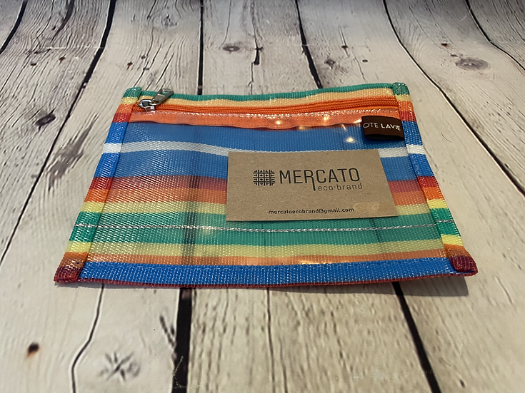 Mercato Eco Brand -Clear front Pouch