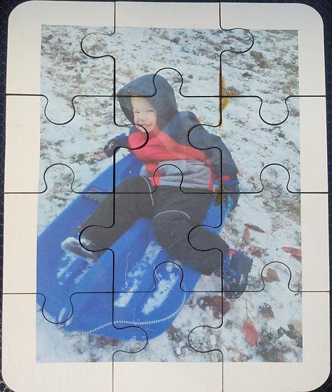 Wood Photo Puzzles