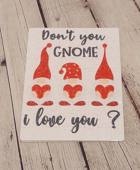 Don't you GNOME i love you puzzle