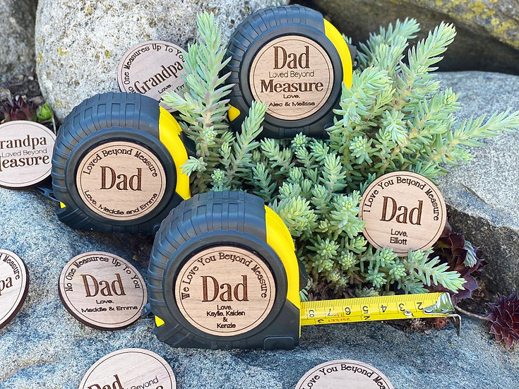 Fathers day tape measure