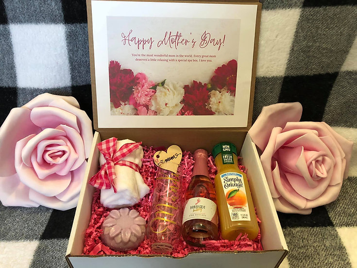 Mimosas Mother's Day gift box