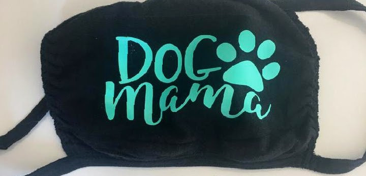 Dog mama face mask