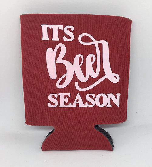 It's Beer Season koozie