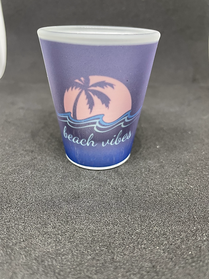 Beach vibes - shot glass