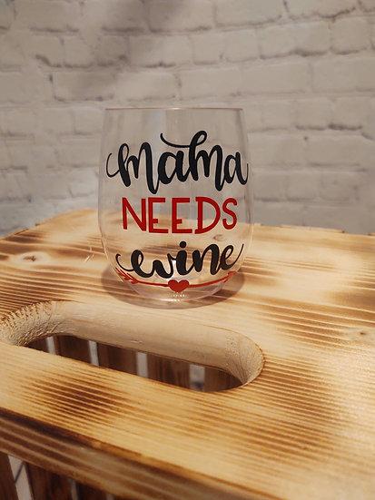 Stemless wine glasses - shatterproof