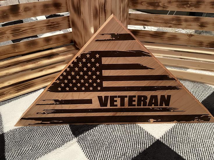 Veteran Flag block