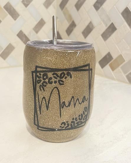 Wine tumbler cups w/ lid