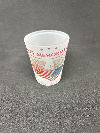 Memorial Day Shot glass