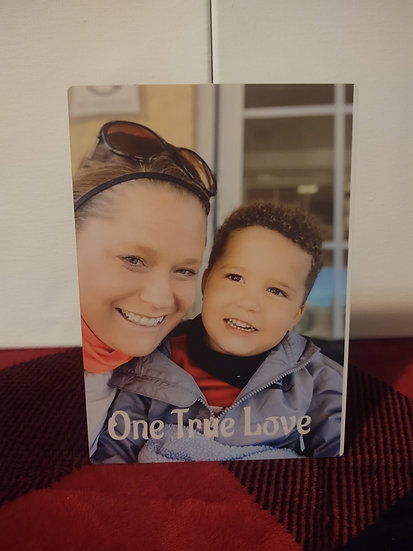 Custom Printed Photo board 8x10