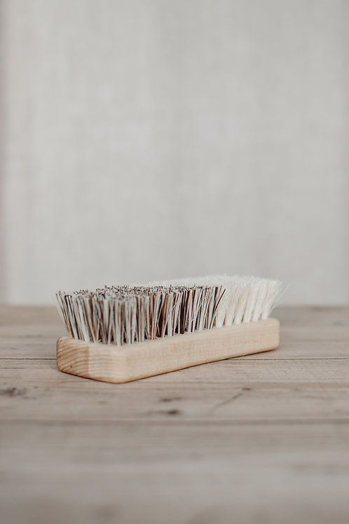 Wooden Natural Bristle Scrubbing Brush