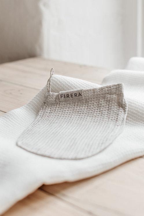 Gently Exfoliating Linen Wash Mitt