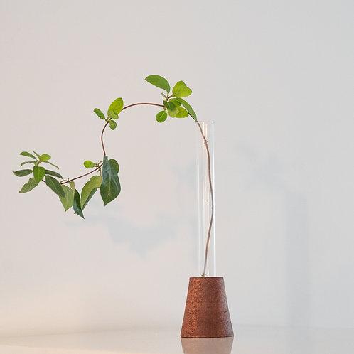 Mahogany Cone Vase