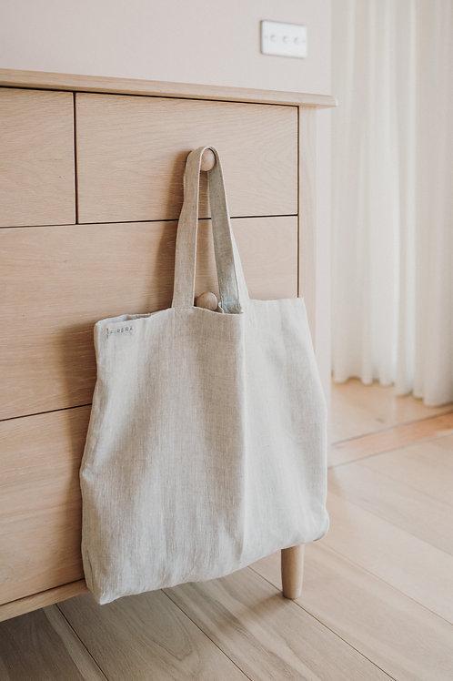Minimalist Linen Tote Bag