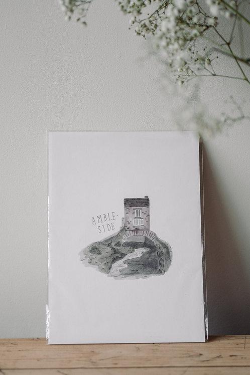 Ambleside A4 Print