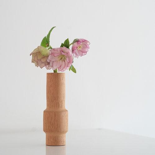 Petite Mahogany Bud Vase