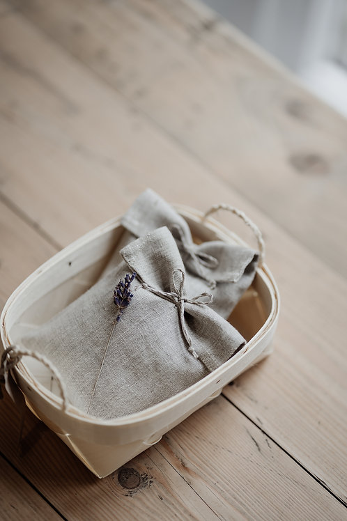 Pure Linen & Organic Lavender Bags