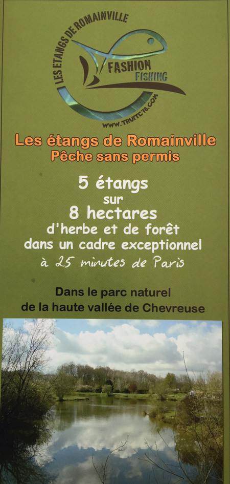 étangs de romainville