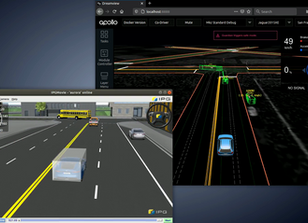 Connecting Autonomous Vehicle Software to a Simulator