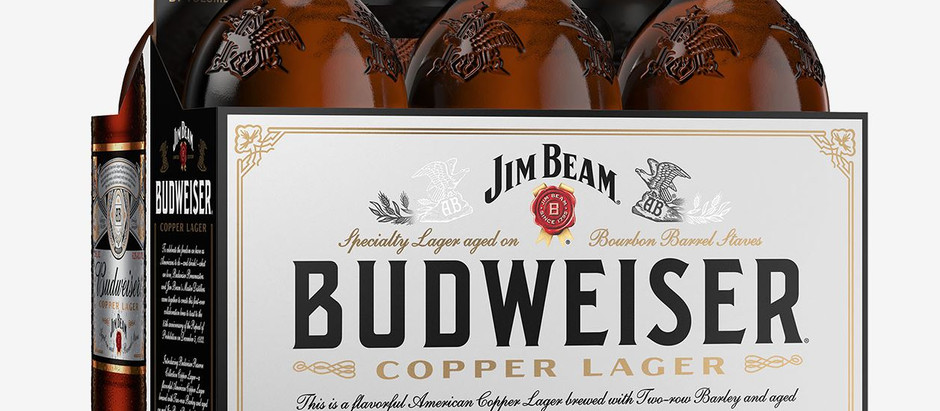 What we're drinking - Budweiser Reserve Copper Lager