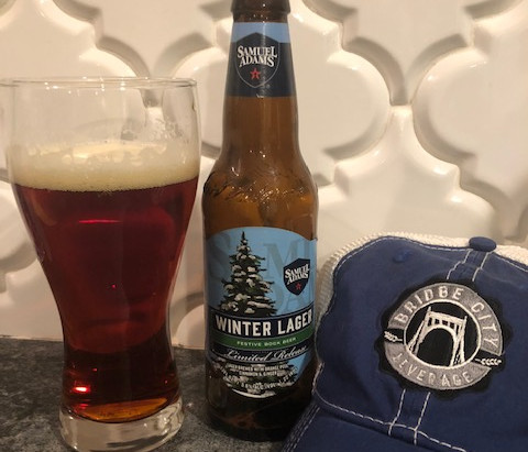 What we're drinking - Sam Adams Winter Lager