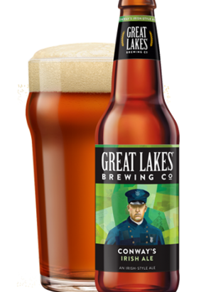 What we're drinking - Great Lakes Conway's Irish Ale