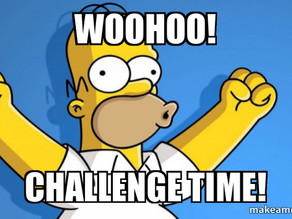 It's Challenge Time