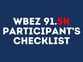 Your 5K checklist