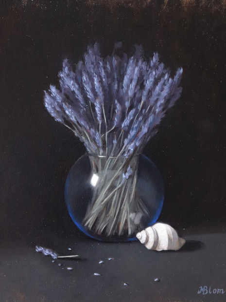 Lavender and sea shell