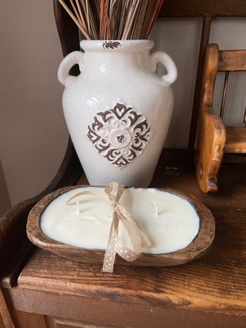 3 Wick Dough Bowl Soy Candle