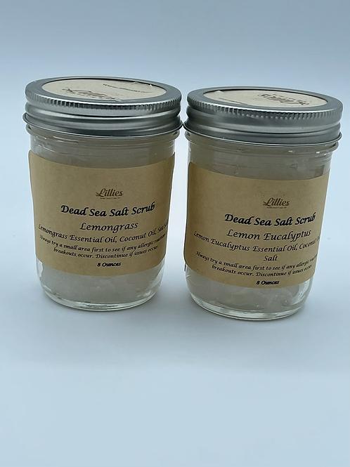 Dead Sea Salt Scrub 8oz