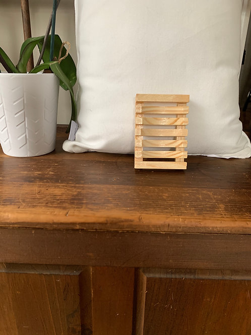 Wood Natural Soap Tray