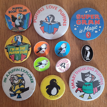12 Puffin Club badges - for Jack, not other customers