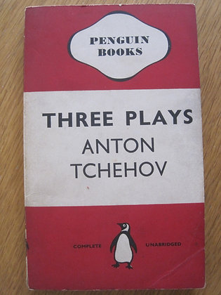 Three Plays (The Cherry Orchard, The Seagull, The Wood Demon)  by  Anton Tchehov