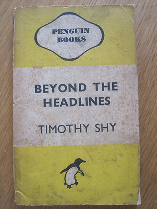 Beyond the Headlines  by  Timothy Shy