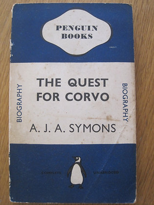 The Quest for Corvo  by  A. J. A. Symons