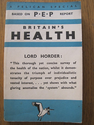 Britain's Health  'prepared' by  S. Mervyn Herbert