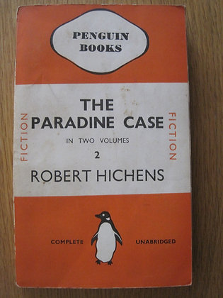 The Paradine Case Volume 2 by  Robert Hichens