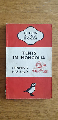 Tents in Mongolia  by  Henning Haslund
