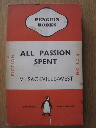 All Passion Spent  by V. Sackville-West