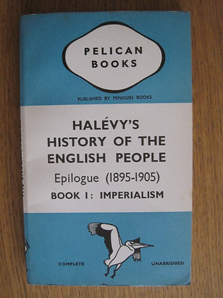 A History of the English People Epilogue (1895-1905) (Book 1)  by  Élie Halévy