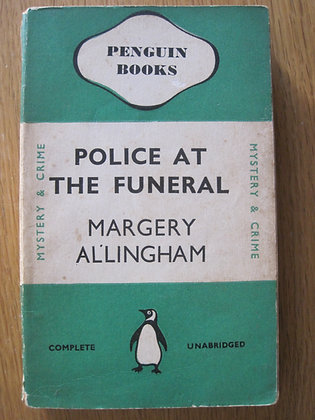 Police at the Funeral  by  Margery Allingham