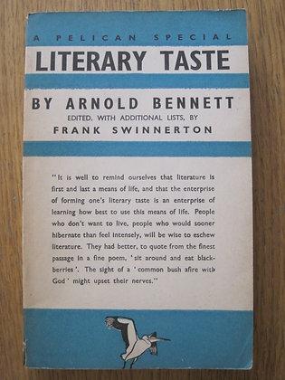 Literary Taste  by  Arnold Bennett  (Ed.Frank Swinnerton)