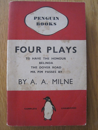 Four Plays  by  A. A. Milne
