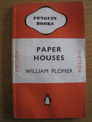Paper Houses  by  William Plomer