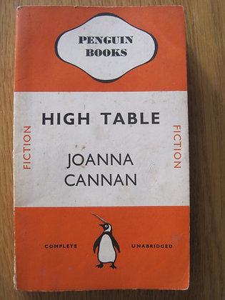 High Table  by  Joanna Cannan