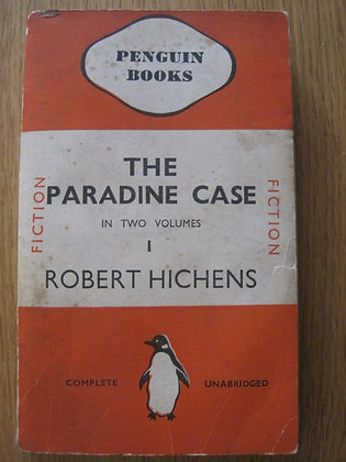 The Paradine Case Volume 1 by  Robert Hichens