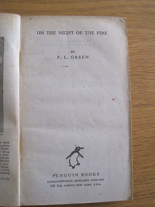 On the Night of the Fire  by  F. L. Geen