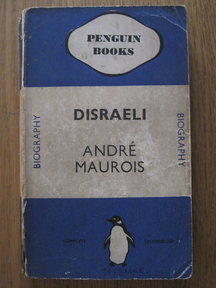 Disraeli  by  André Maurois