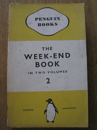 The Weekend Book Volume 2  eds. Francis & Vera Meynell