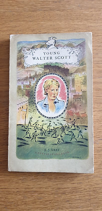 Young Walter Scott  by  E. J. Gray